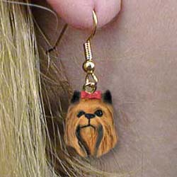 Jewelry - Earrings: Yorkshire Terrier